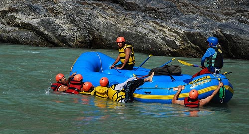 Adventure Rafting on Ganges